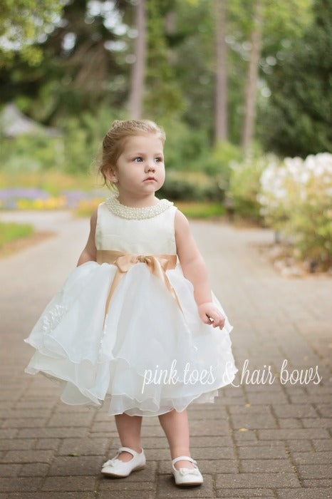 Beige Princess Dress