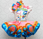 Load image into Gallery viewer, Tiny toons tutu set- tiny toons outfit-tiny toons dress
