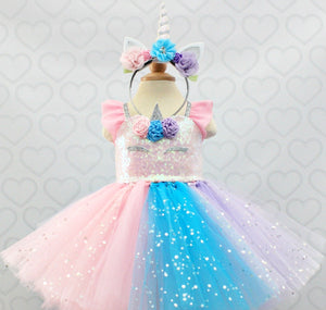 Unicorn dress-unicorn tutu dress-unicorn birthday dress-unicorn tutu-unicorn outfit-Sparkle