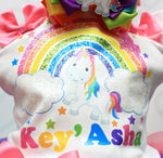 Load image into Gallery viewer, Unicorn tutu set-Unicorn outfit-Unicorn dress