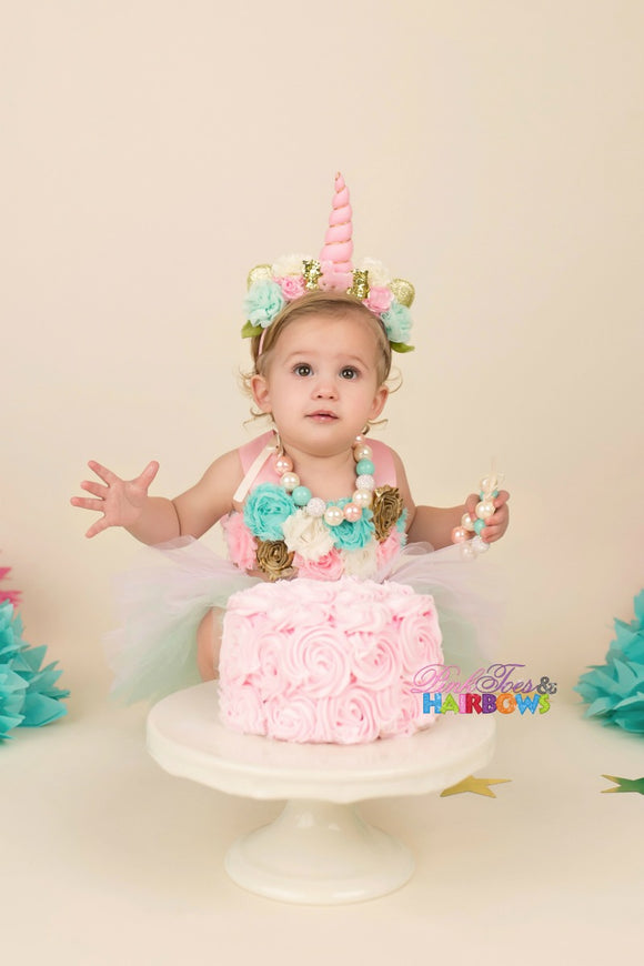 Unicorn Cake Smash Set