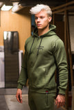 RÄÄKKI Essentials 187 Hoodie - Army Green (Men)