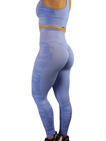 CAMO Seamless SET - Frost Blue Camo