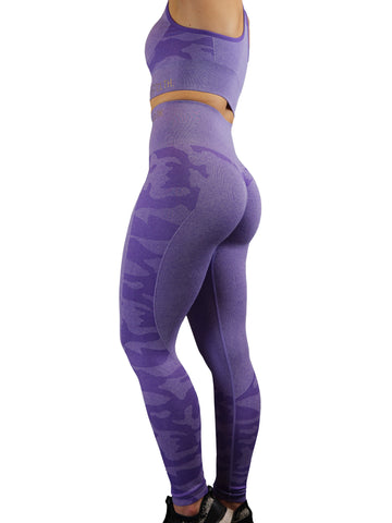 CAMO Seamless SET - Violent Lavender Camo