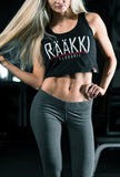 RÄÄKKI Essentials RÄÄKKI Crop Top - Black
