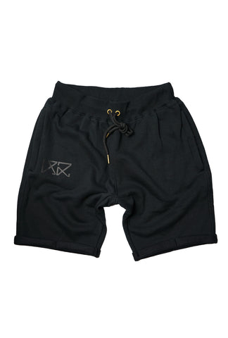 Mens Jogger Shorts - Full Dark