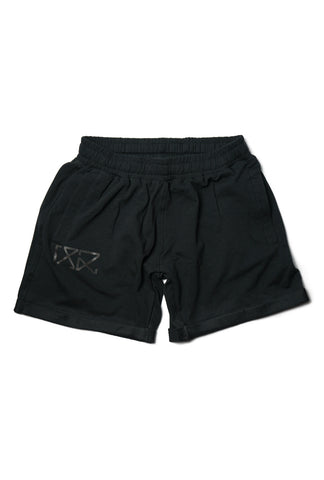 Womens Jogger Shorts - Full Dark
