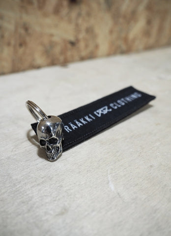 RÄÄKKI Key Fob - the Skull FAM.