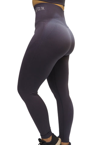 RÄÄKKI Seamless SPORT SET - Grey Lila