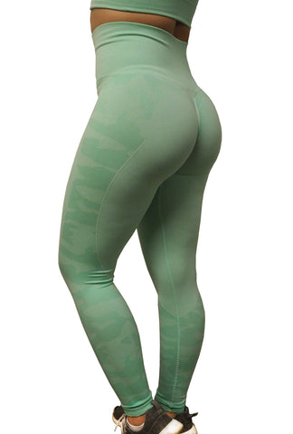 CAMO Seamless SET - Mint Camo