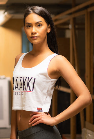 RÄÄKKI Essentials RÄÄKKI Crop Top - White