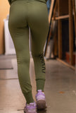 RÄÄKKI Essentials 187 Joggers - Army Green (Women)