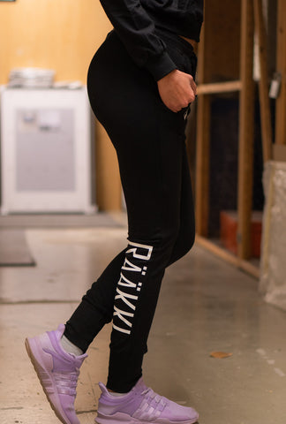 RÄÄKKI Essentials 187 Joggers - Black (Women)