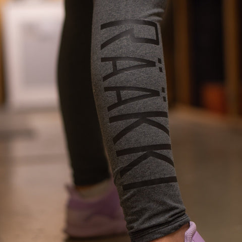 RÄÄKKI Leggings - Charcoal (Women)