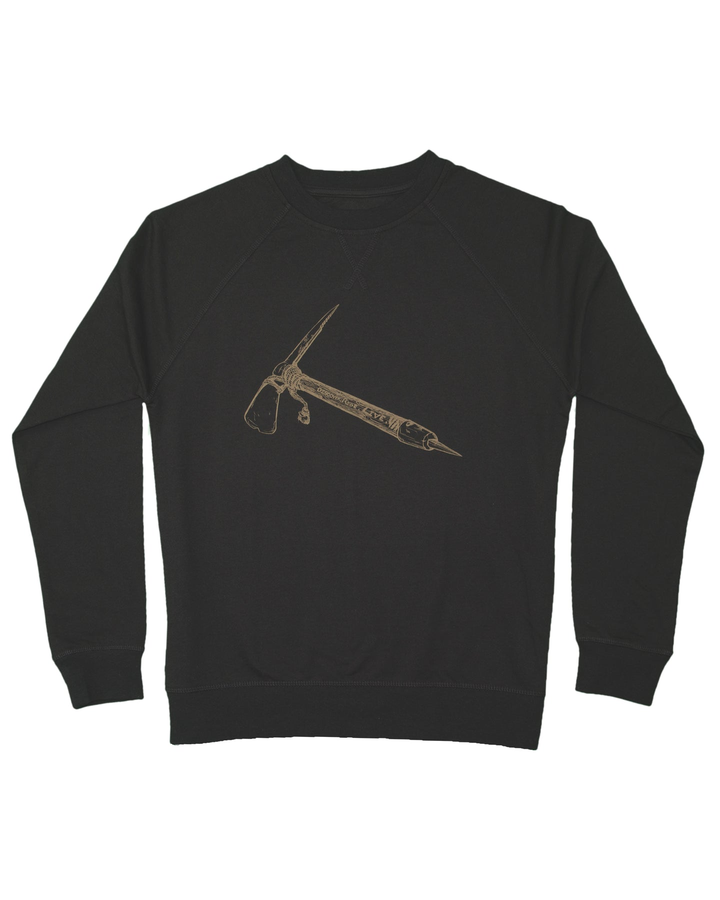 Ice Axe - Crew Neck Pull Over
