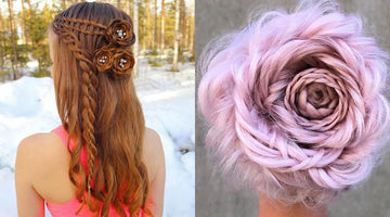 Six Dope Ways To Create Braided Rose Hairstyles