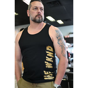 Black WKND Tank Top (Multiple Colours Inside)