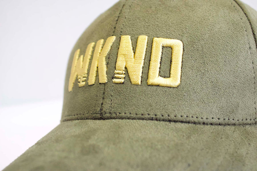 WKND Suede Dad Hat