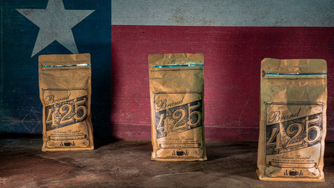 Texas Style Craft Coffee Southeast Texas Wholesale Coffee Roaster Brand 425 Coffee