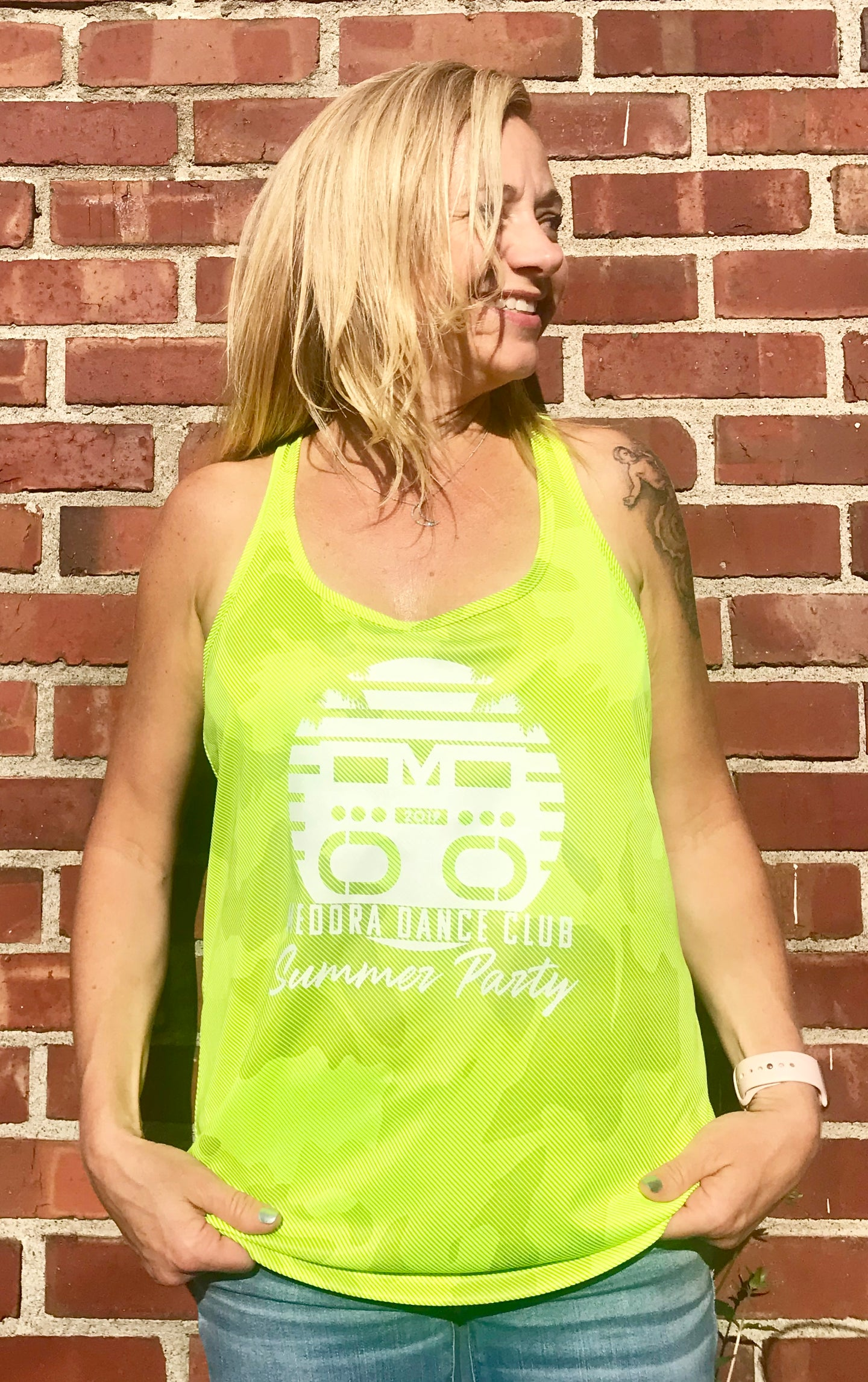 Neon Yellow Summer tank