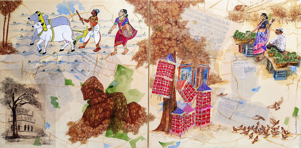 Glimpse of Hyderabad (set of 2)