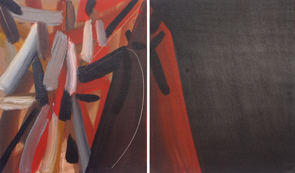 Now (Set of 2 Paintings)