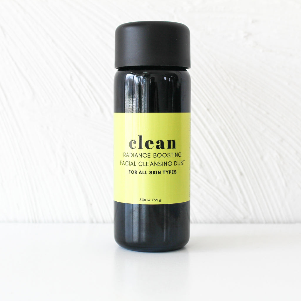CLEAN facial cleansing dust
