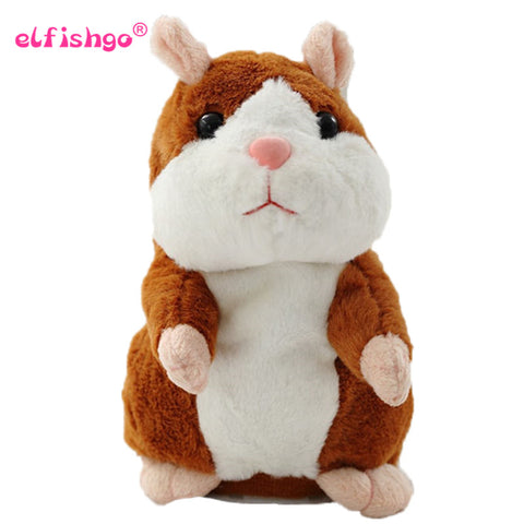 2019 Talking Hamster Mouse Pet Plush Toy Hot Cute Speak Talking Sound Record Hamster