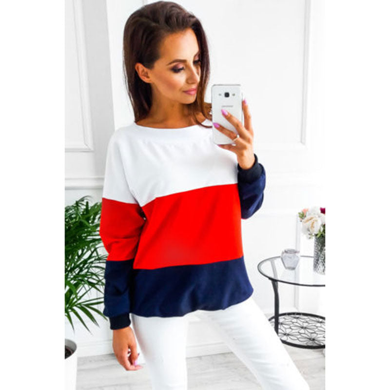Female T-shirt Plus Size Vogue Women Tops  Lady's Clothes Long Sleeve Maternity Clothing