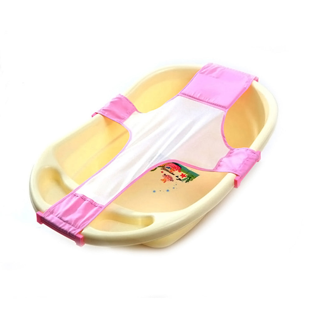High Quality Baby Adjustable Bath Seat Bathing Bathtub Seat Baby Bath Net Seat Support