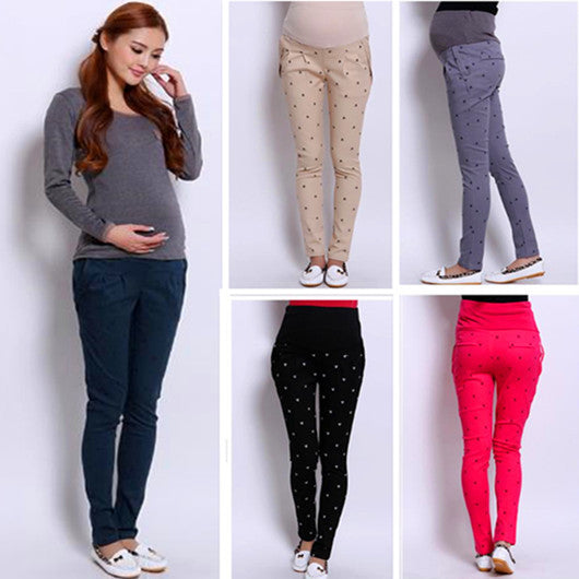 2019/20   Plus Size Maternity clothes for Pregnant Women Belly Pants Maternity Clothing