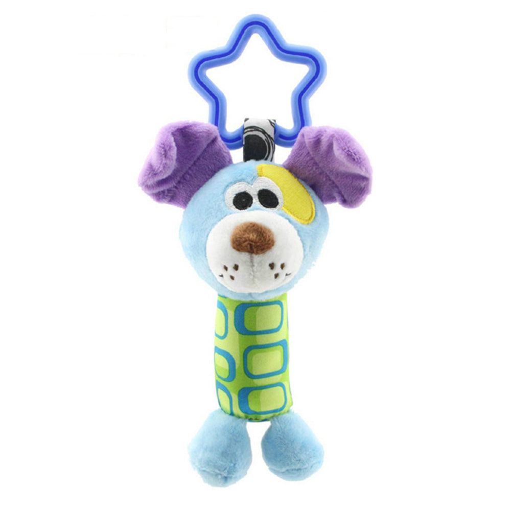 Cute Plush Baby Toys Soft Musical Newborn Kids Animal Baby Mobile Stroller Toys Bebes