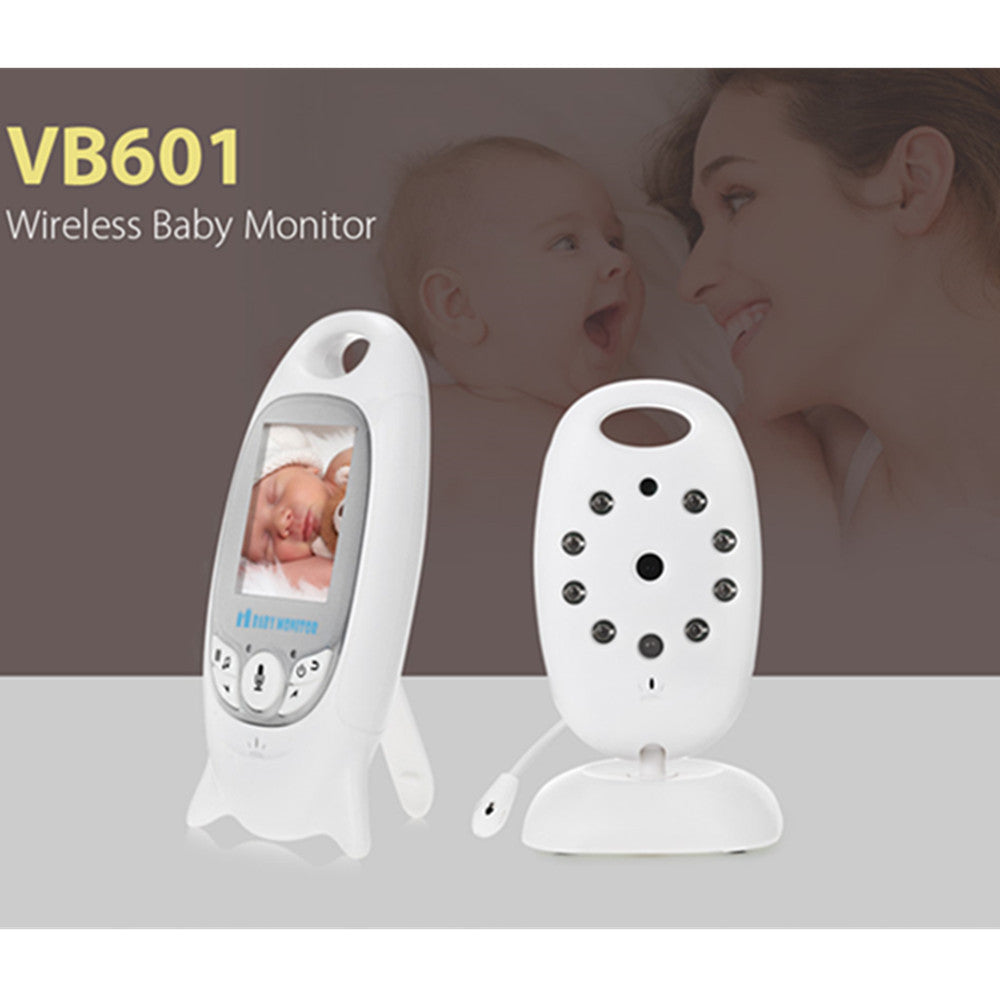 Hot Infant Wireless Monitor Night Vision Digital Video Baby Monitor Audio Music Camera