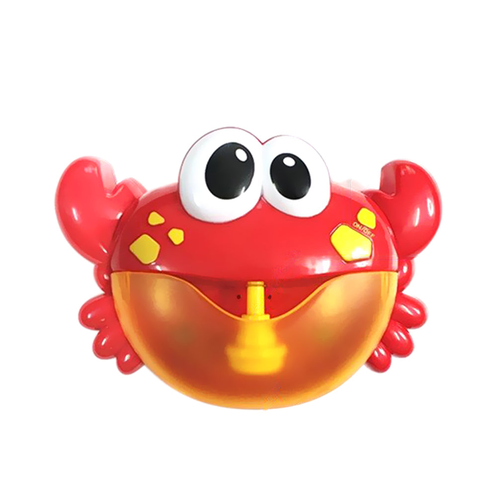 FREE SHIPPING New Arrival Bubble Crab Baby Bath Toy Funny Bath Bubble Maker Bathtub Soap Machine