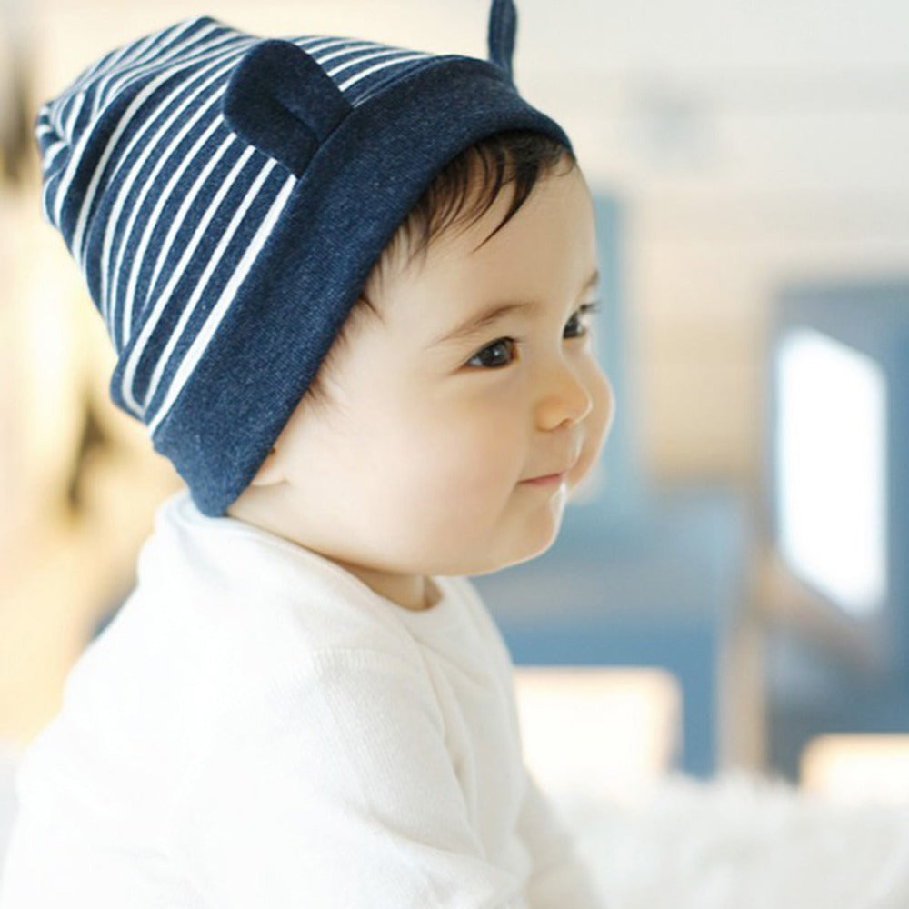 Cute Baby Beanie with Ears