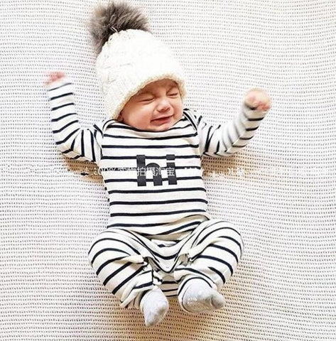 2019/20 new Infant Baby Clothing Sets Boy Long Sleeve Spring Autumn Outfits Set