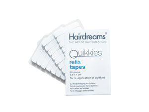 QUIKKIES Refix Tapes<br>(Pack of 60)