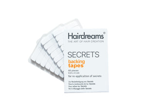 SECRETS Backing Tapes<br>(Clear-Pack of 60)