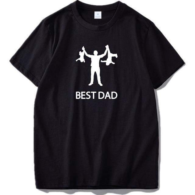 'Best Dad' Men's Funny Graphic T-Shirt