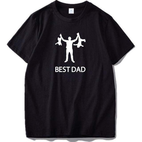Men's 'Best Dad' Funny Graphic T-Shirt