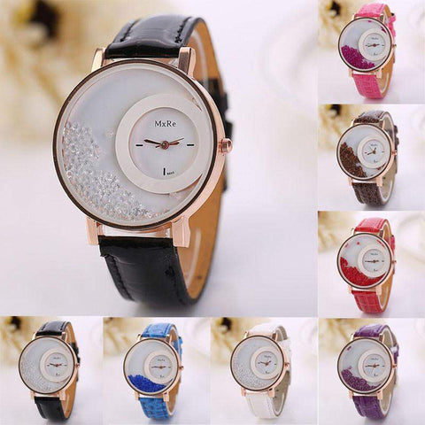 'The Rhinestones' Women's Rhinestone Watch