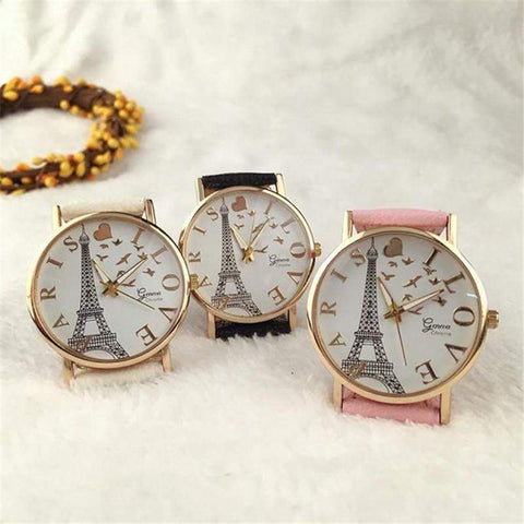 'Love Paris' Women's Watch