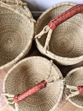 'Natural' - Medium/Large Bolga Basket