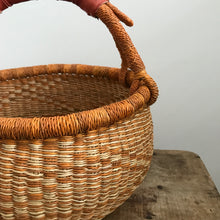 'Ochre' - Small/Medium Bolga Basket