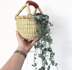'Natural' - Small Bolga Basket