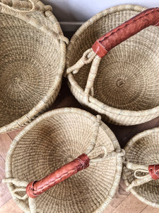 'Natural' - Small/Medium Bolga Basket