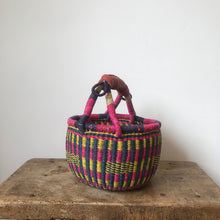 'Summer' - Small Bolga Basket