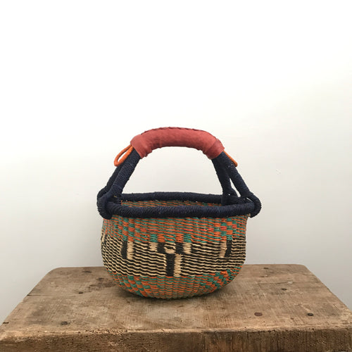 'August' - Small Bolga Basket