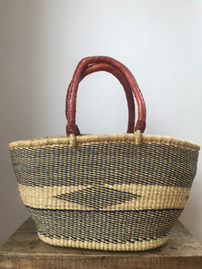 Navy and Natural Shopper