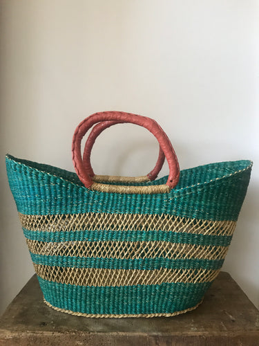 Azure Lace Shopper